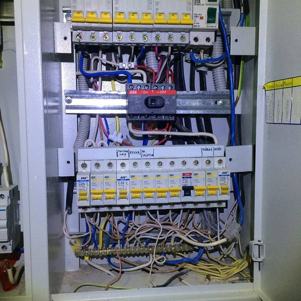Аварийный вызов электрика на дом по замене электрощита в квартире