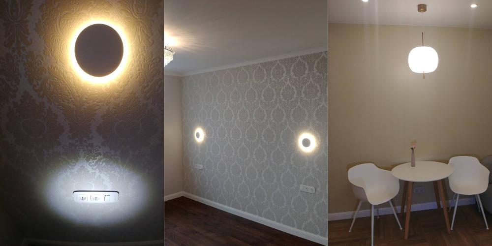 Все работы такие как установка светодиодных светильников во Владивостоке и их стоимость установки