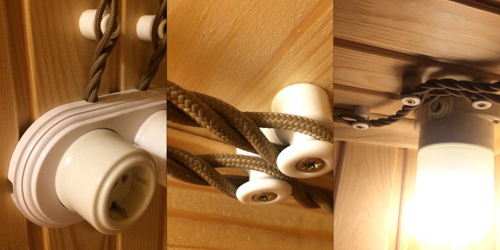 Монтаж ретро проводки в деревянном доме доступно и недорого!