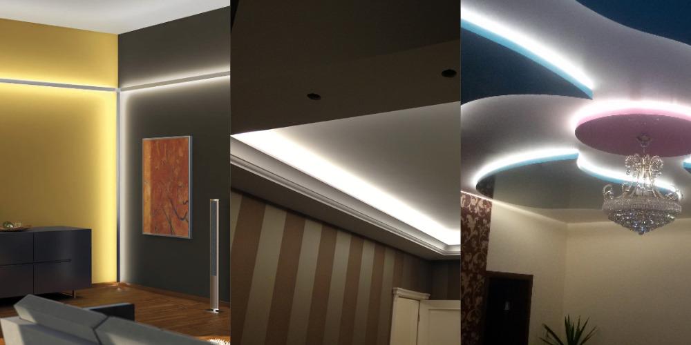 Монтаж светодиодной ленты от компании — «Услуги электрика Владивосток»