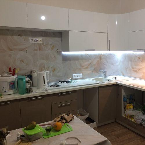Светодиодные ленты на кухне