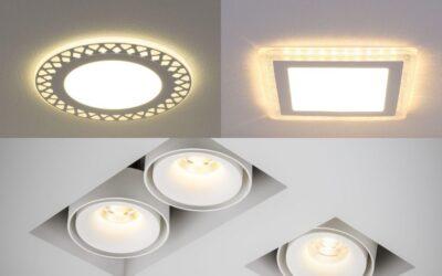 Врезные потолочные светильники
