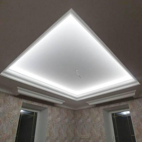 Установка светодиодных светильников в квартире