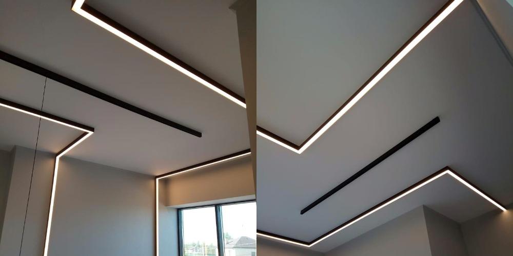 Различные виды освещения для спальной комнаты
